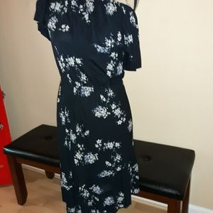 NWT Lucky 1 shoulder dress, small